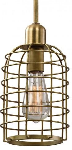 Septa 1 Light Cage Mini Pendant