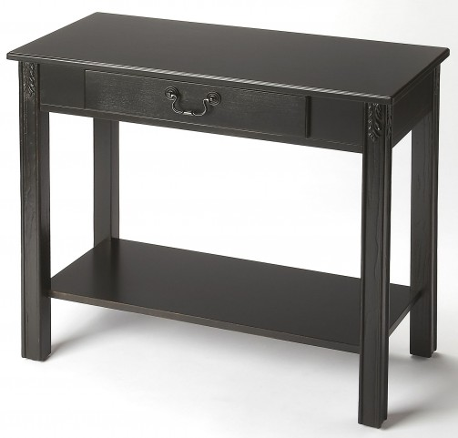 Sheridan Black Licorice Console Table
