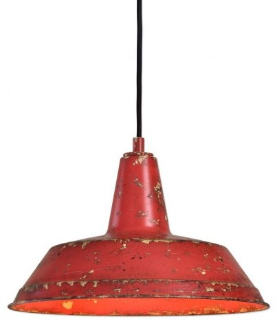 Pomodoro 1 Light Distressed Pendant