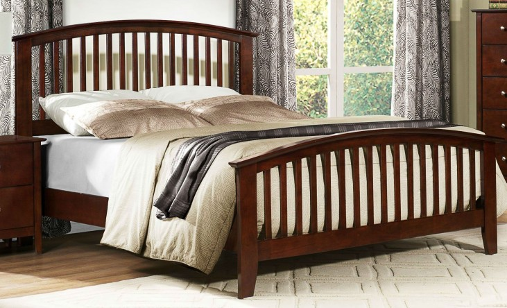 Nancy Queen Panel Bed