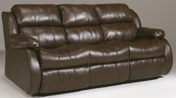 Mollifield DuraBlend Cafe Reclining Dual Massage Sofa