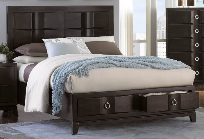 Edmonston Cal. King Platform Storage Bed