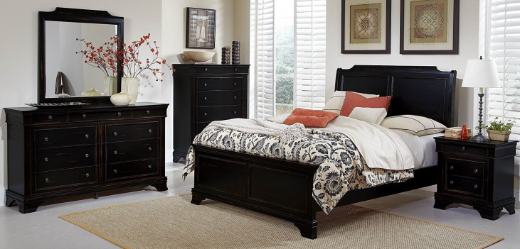 Derby Run Panel Bedroom Set