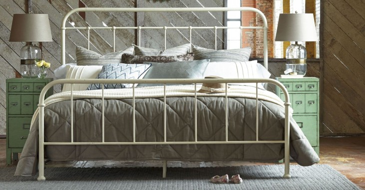 Epicenters Williamsburg Metal Panel Bedroom Set