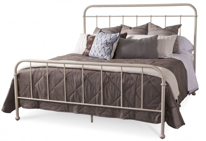Epicenters Williamsburg King Metal Panel Bed
