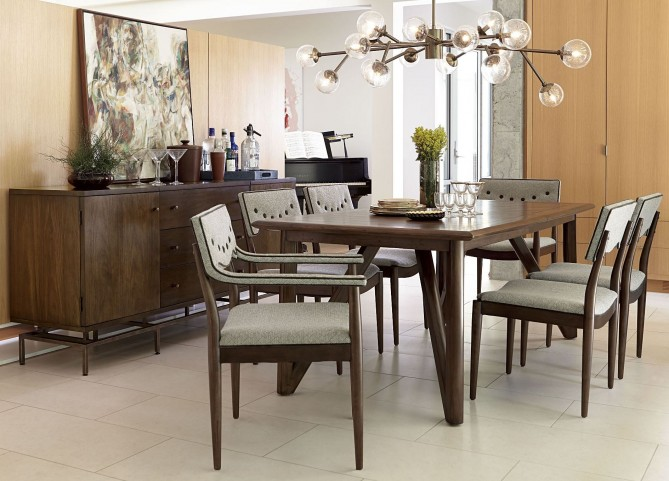 Epicenters Silver Lake Rectangular Dining Room Set