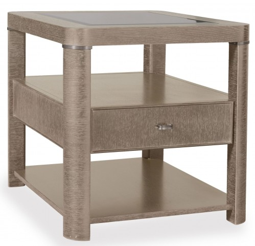 Greenpoint Sandstone Rectangular End Table