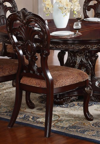 Deryn Park Cherry Side Chair Set of 2