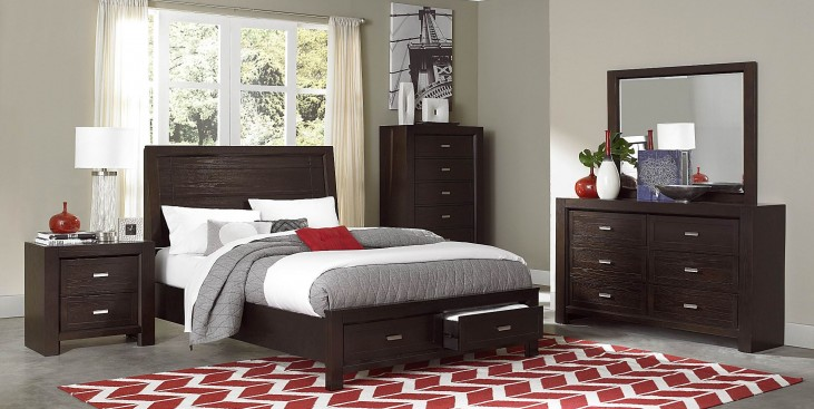 Breese Platform Storage Bedroom Set