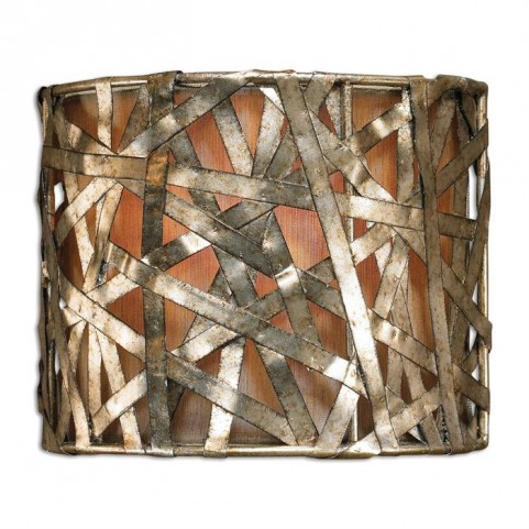 Alita Champagne 1 Light Wall Sconce