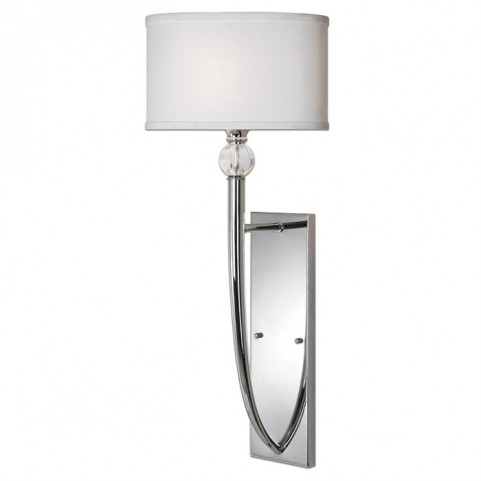 Vanalen 1 Light Chrome Wall Sconce