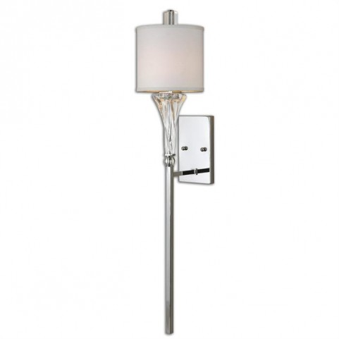Grancona 1 Light Chrome Wall Sconce