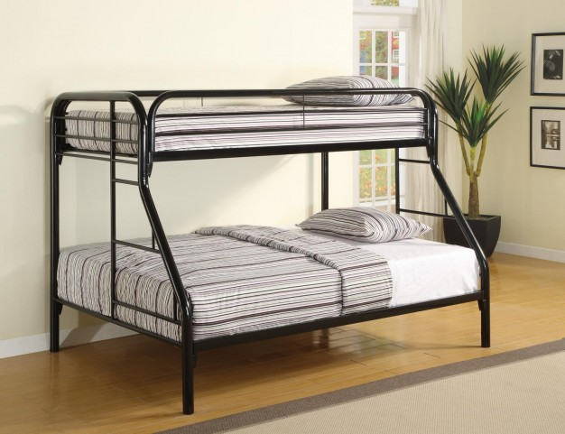 Fordham Black Twin Over Full Bunk Bed 2258K