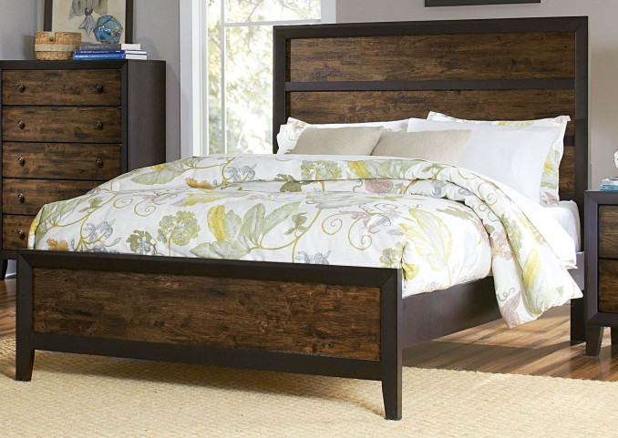 Arcola Queen Panel Bed
