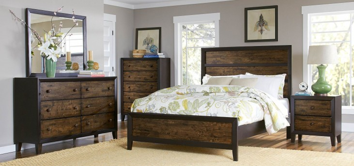 Arcola Panel Bedroom Set