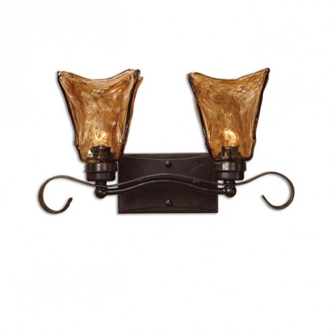 Vetraio 2 Light Bronze Vanity Strip