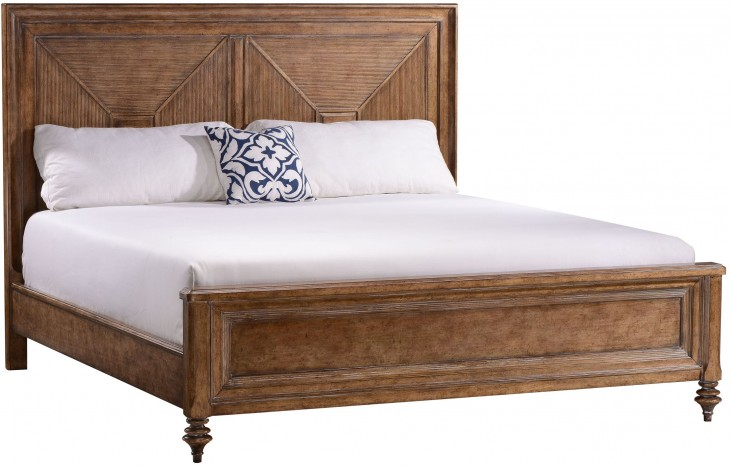 Pavilion King Panel Bed