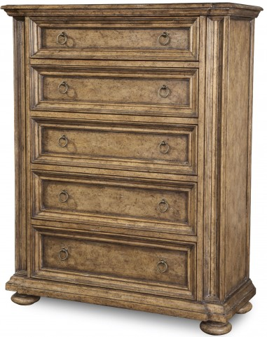 Pavilion Breakfront 5 Drawer Chest