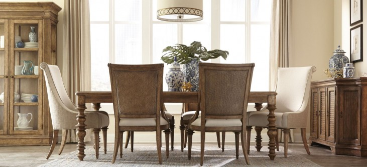 Pavilion Leg Extendable Dining Room Set