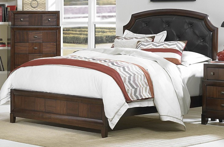 Carrie Ann King Panel Bed