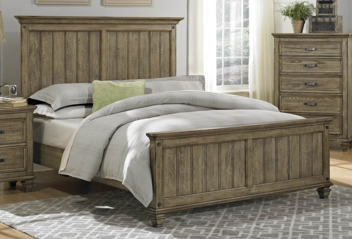 Sylvania Cal. King Panel Bed