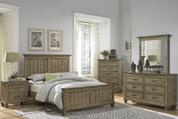 Sylvania Panel Bedroom Set