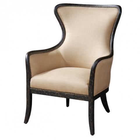 Zander Tan WingBack Armchair