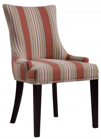 Bourbon Imperial Stripe Dining Chair