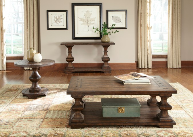 Sedona Kona Brown Occasional Table Set