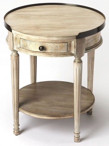 Sampson Driftwood Accent Table
