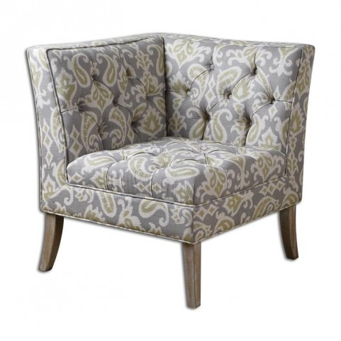 Meliso Tufted Corner Chair