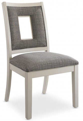 Open Seating White Naomi Side Chair