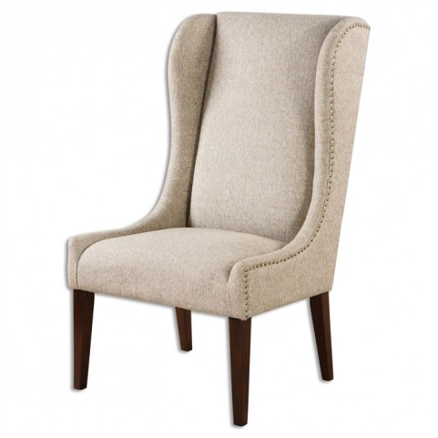 Kriston Wingback Armless Chair