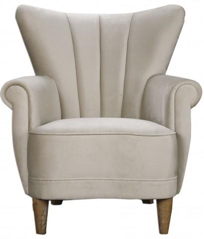 Franchette Butterfly-Back Armchair