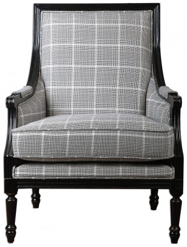 Scott Wood Frame Armchair