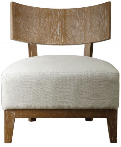 Gaige Oak Armless Chair