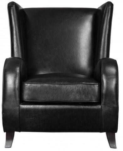 Lane Black Accent Chair