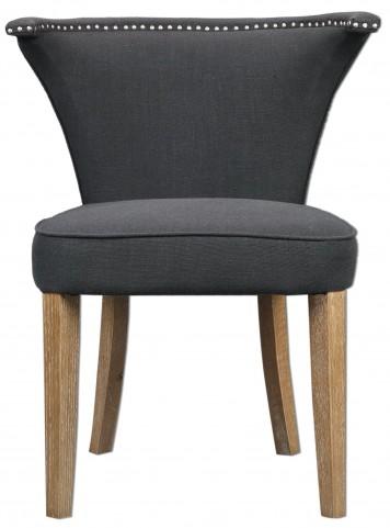 Dasen Dark Gray Accent Chair