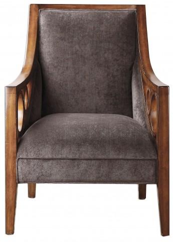 Maclean Brown Armchair