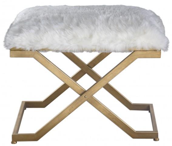 Farran Fur Small Bench
