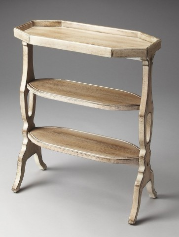 Masterpiece Hadley Driftwood Accent Table