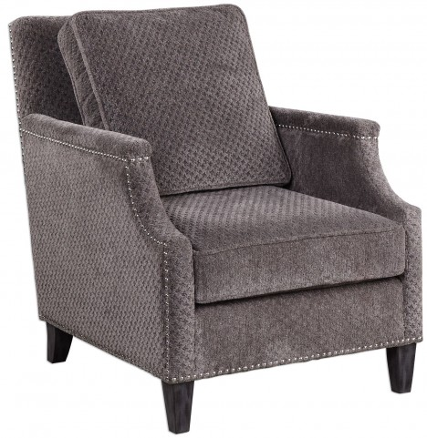 Dallen Pewter Gray Accent Chair
