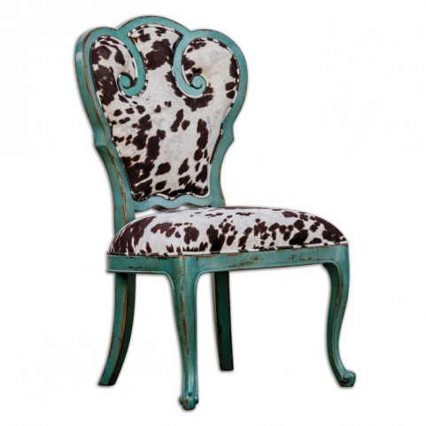 Chahna Velvet Accent Chair