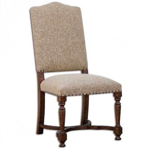 Pierson Textured Linen Accent Chair