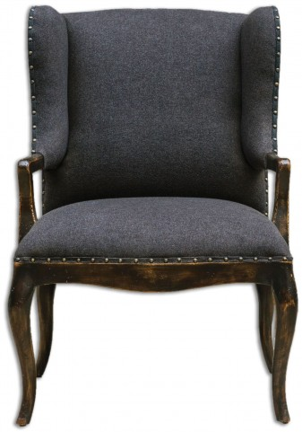 Chione Black Armchair