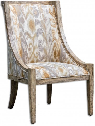 Alabaster Driftwood Accent Chair