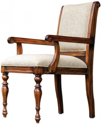Danek Honey Stained Armchair