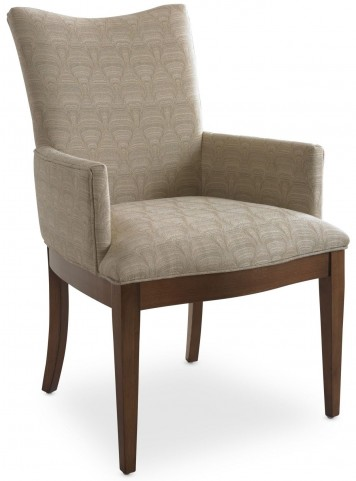 Open Seating Adriana Cream Patterned Arm Chair