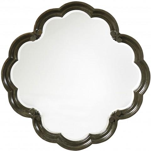 Continental Vintage Melange Round Mirror