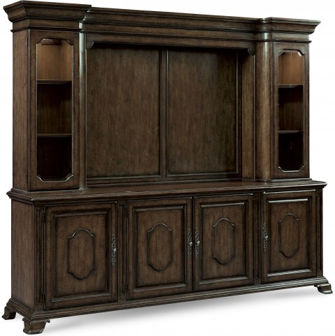 Continental Vintage Melange Entertainment Center